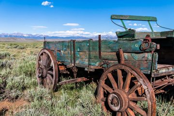 Abandoned Wagon of the West