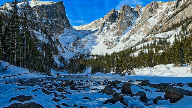 Dreamy View of Hallett Peak
