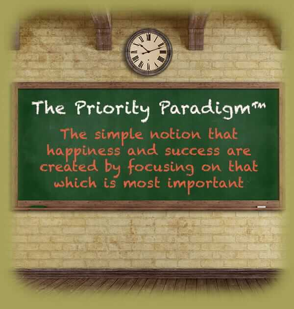 The Priority Paradigm Chalkboard