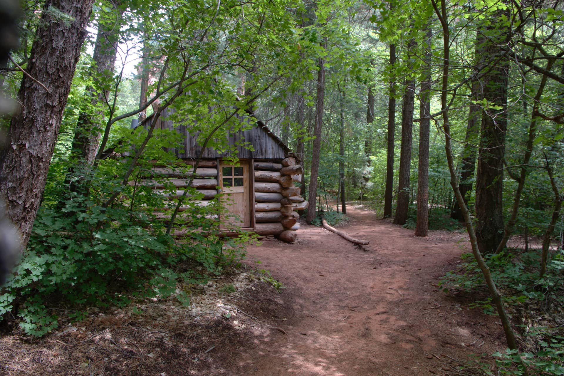 Fife Cabin on Taylor Creek Trail in Zion National Park