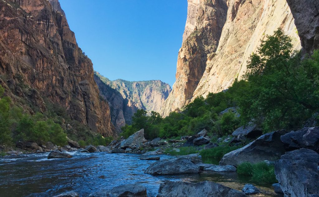 Gunnison River in the Canyon