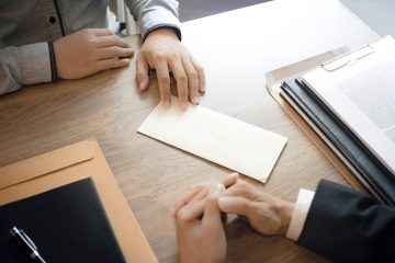 Handing in Resignation Letter