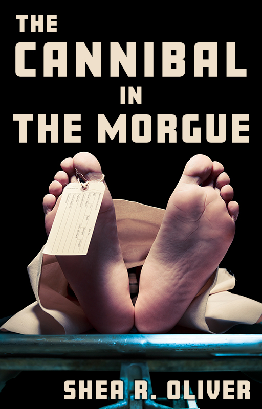 The Cannibal in the Morgue - Cover