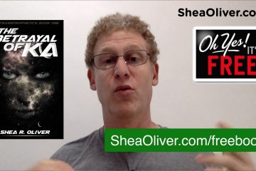 Shea Oliver's Author Update Ep004