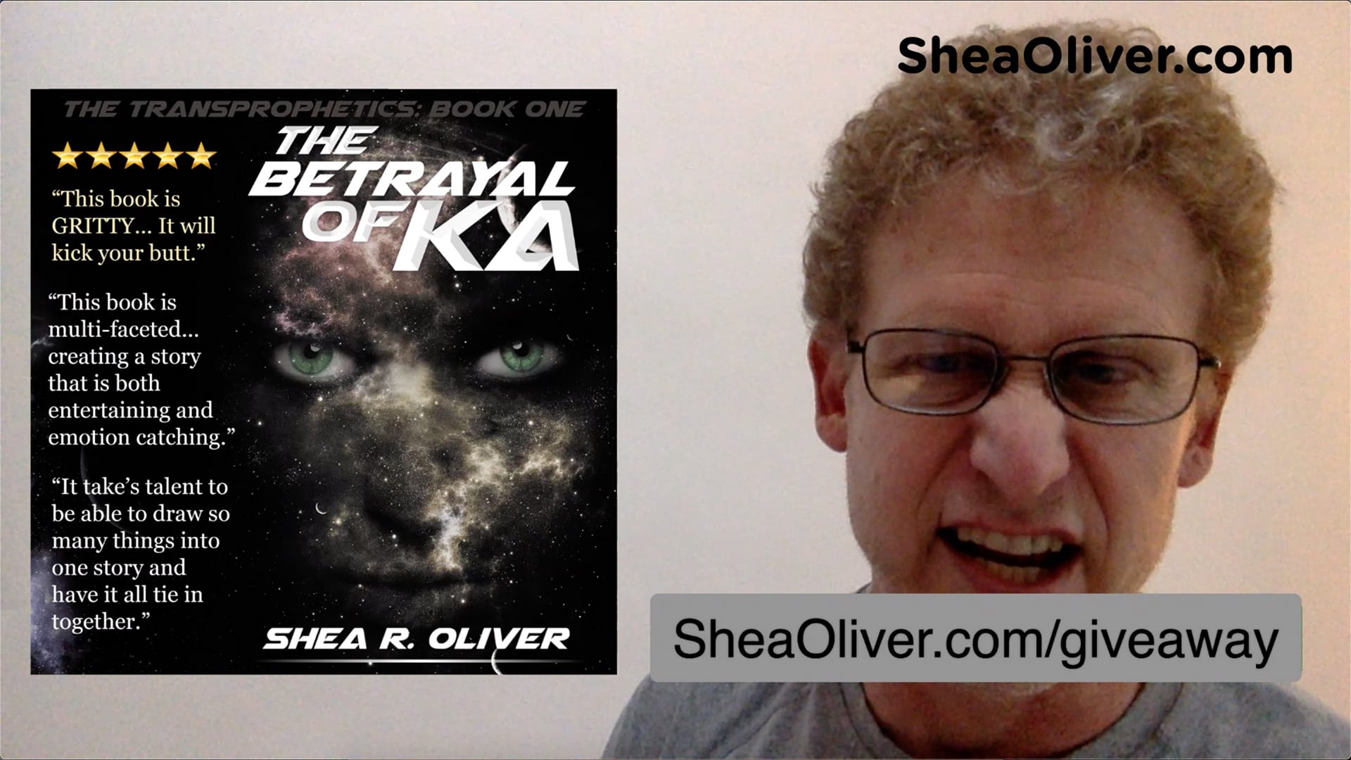 Shea Oliver's Author Update Ep005