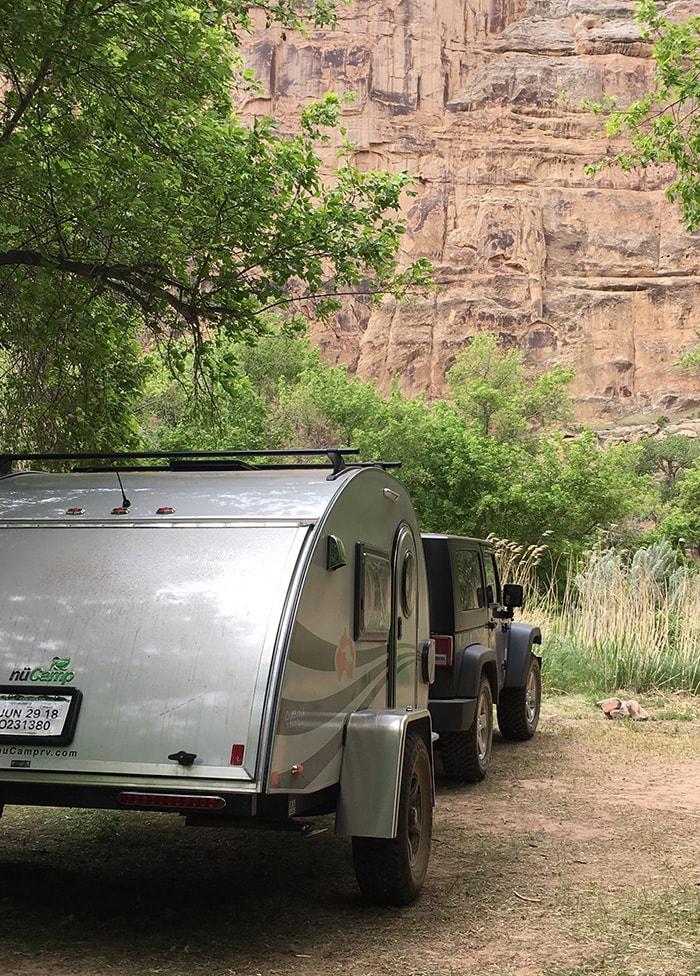 My Jeep & Teardrop Trailer