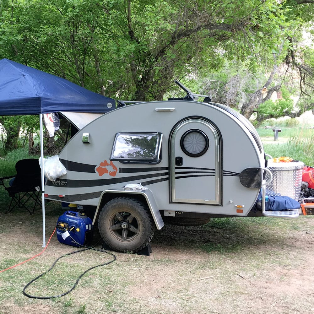 My T@G Teardrop Trailer